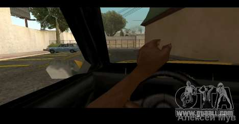 Realistic steering for GTA San Andreas second screenshot