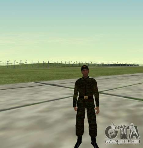 Fighter of the Russian Army v 2.0 for GTA San Andreas