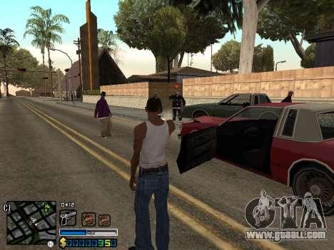 C-HUD By Stafford for GTA San Andreas fifth screenshot