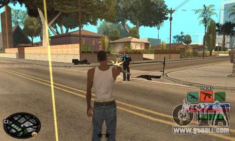 C-HUD Rainbow for GTA San Andreas sixth screenshot
