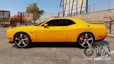 Dodge Challenger SRT8 2012 for GTA 4 left view