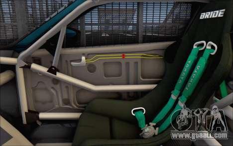 Scion FR-S 2013 Beam for GTA San Andreas interior