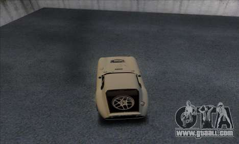 Shelby Cobra Daytona for GTA San Andreas right view