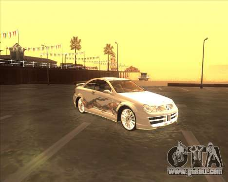 Mercedes CLK 500 из NFS Most Wanted for GTA San Andreas