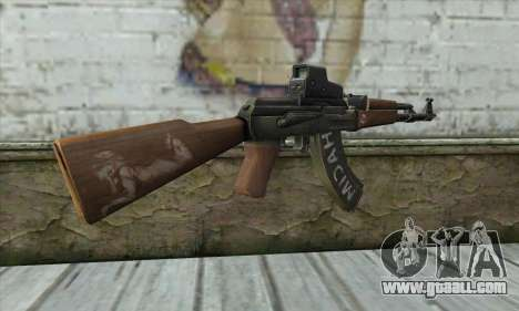 Point Blank AK47 Elite for GTA San Andreas second screenshot