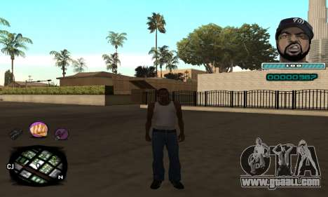 C-HUD Ice Cube for GTA San Andreas
