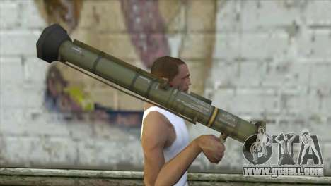 AT4 Rocket Launcher for GTA San Andreas third screenshot