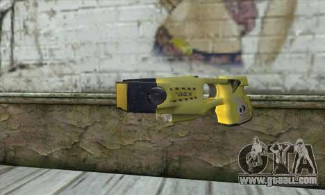 Taser Gun for GTA San Andreas