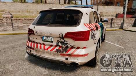 Audi Q7 FCK PLC [ELS] for GTA 4 back left view