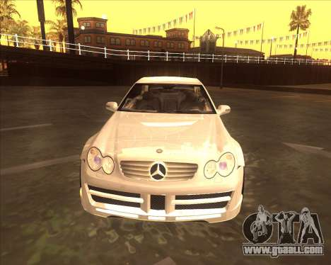 Mercedes CLK 500 из NFS Most Wanted for GTA San Andreas left view