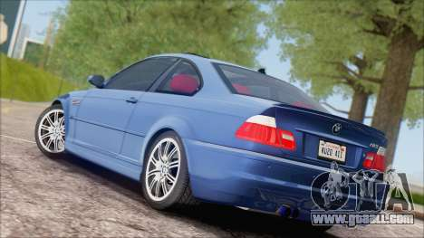 BMW M3 E46 2002 for GTA San Andreas right view