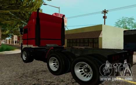 JoBuilt Hauler Fixet из GTA 5 for GTA San Andreas left view