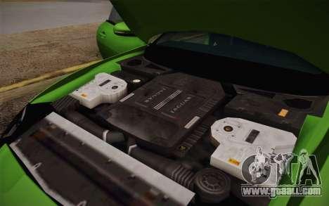 Jaguar XKR-S GT 2013 for GTA San Andreas upper view