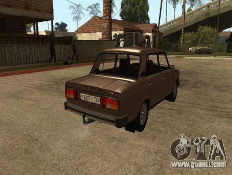 VAZ 2105 early version for GTA San Andreas back left view