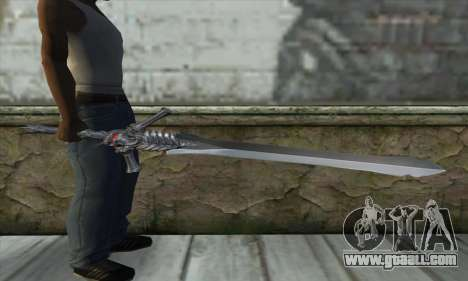 DMC 4 Rebelion for GTA San Andreas third screenshot
