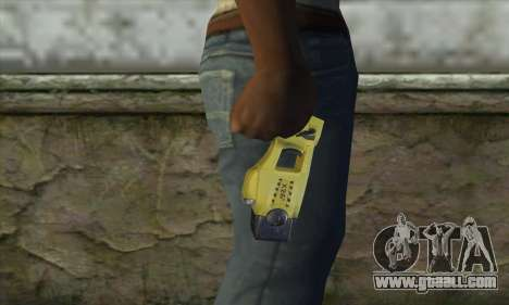 Taser Gun for GTA San Andreas third screenshot