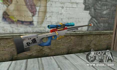 Point Blank L115A1 Latin 3 for GTA San Andreas second screenshot
