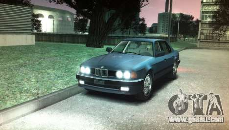 BMW 735iL e32 for GTA 4 right view