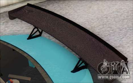 Scion FR-S 2013 Beam for GTA San Andreas upper view