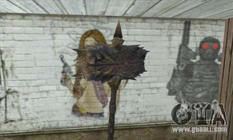 The axe of Skyrim for GTA San Andreas second screenshot