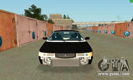 VAZ-21123 TURBO-Cobra for GTA San Andreas left view