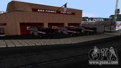 Updated San Fierro Fire Dept for GTA San Andreas