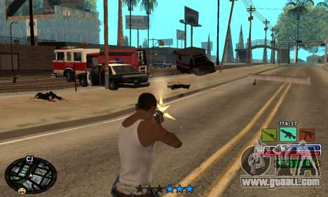 C-HUD Rainbow for GTA San Andreas fifth screenshot