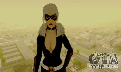 Catwoman for GTA San Andreas third screenshot