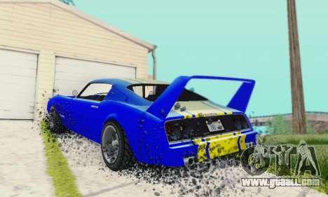 Imponte Phoenix из GTA 5 for GTA San Andreas back view