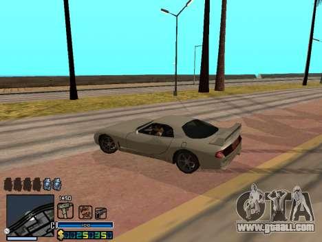 C-HUD By Stafford for GTA San Andreas ninth screenshot