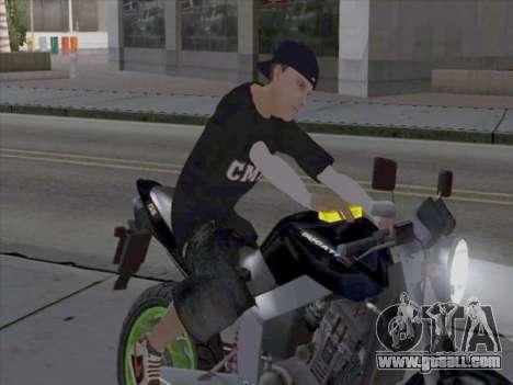 Skin media workers for GTA San Andreas second screenshot
