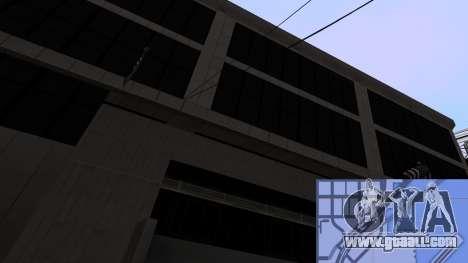 New textures SFPD for GTA San Andreas sixth screenshot