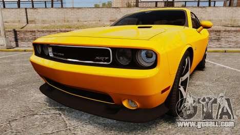 Dodge Challenger SRT8 2012 for GTA 4