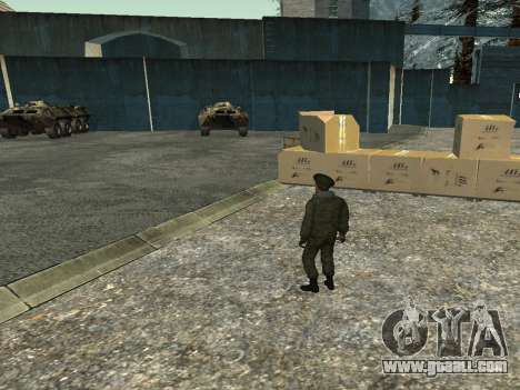Lieutenant-Colonel of the Internal troops for GTA San Andreas forth screenshot