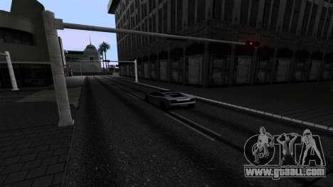 New Roads v2.0 for GTA San Andreas