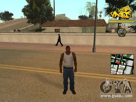 Vagos Gang HUD for GTA San Andreas