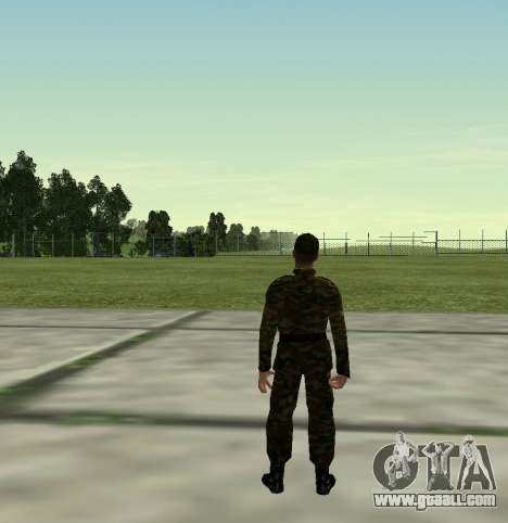 Fighter of the Russian Army v 2.0 for GTA San Andreas forth screenshot