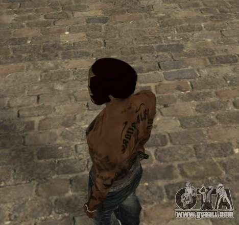 Mask Iron Man for CJ for GTA San Andreas second screenshot