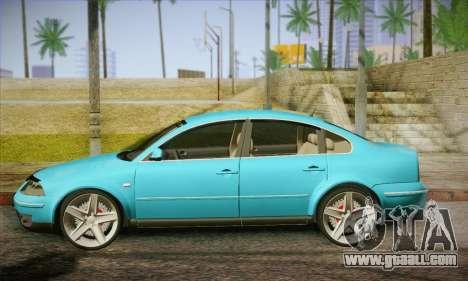 Volkswagen Passat for GTA San Andreas left view