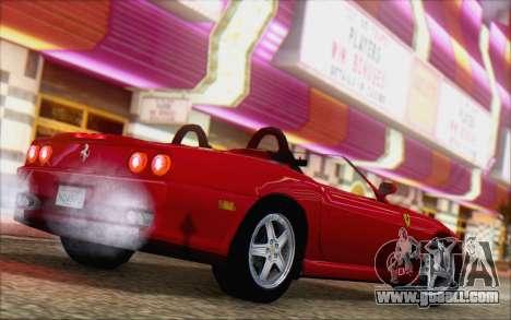 Ferrari 550 Barchetta for GTA San Andreas left view