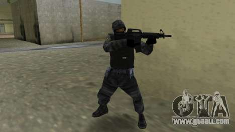 Fighter of Russian Spetsnaz from CS:CZ for GTA Vice City third screenshot