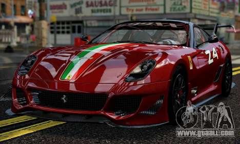 Ferrari 599xx Evoluzione for GTA 4