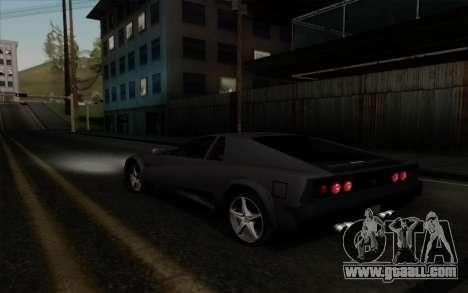 Cheetah v2 for GTA San Andreas right view
