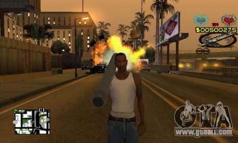 C-HUD New Liberia for GTA San Andreas second screenshot