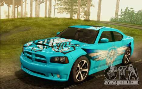 Dodge Charger SRT8 2006 for GTA San Andreas bottom view