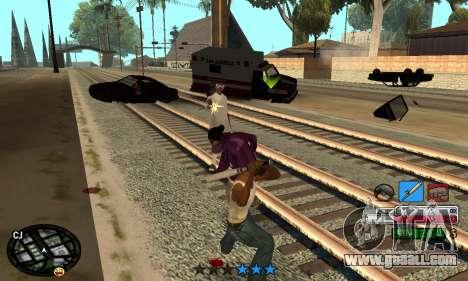 C-HUD Rainbow for GTA San Andreas forth screenshot