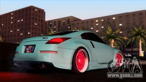 Nissan 350Z Minty Fresh for GTA San Andreas