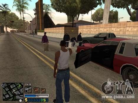 C-HUD By Stafford for GTA San Andreas forth screenshot