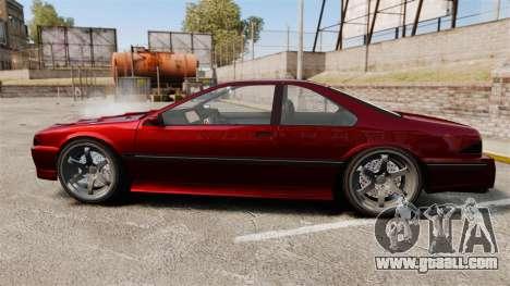 Vapid Fortune GTRS for GTA 4 left view