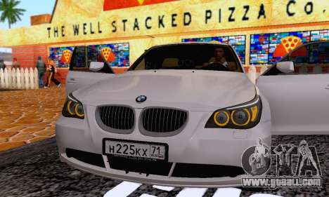 BMW 530xd for GTA San Andreas side view